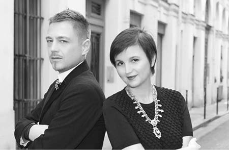 Das Designer-Duo Livia Stoianova und Yassen Samouilov