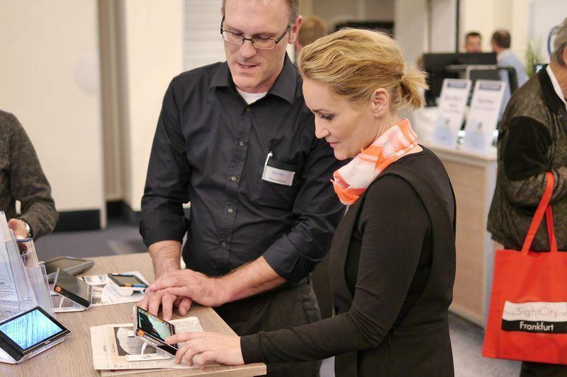Mehr als 130 Aussteller aus ganz Europa, den USA und Asien waren mit ihren Produkten auf der SightCity vertreten.