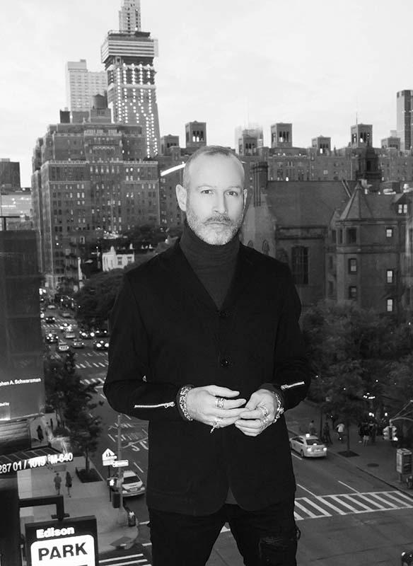 Portrait des Designers Thierry Lasry