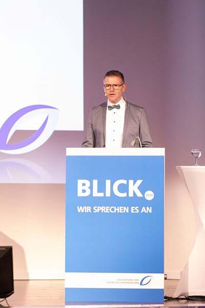 Thomas Heimbach, Vorsitzender des Augenoptiker- und Optometristenverbandes NRW