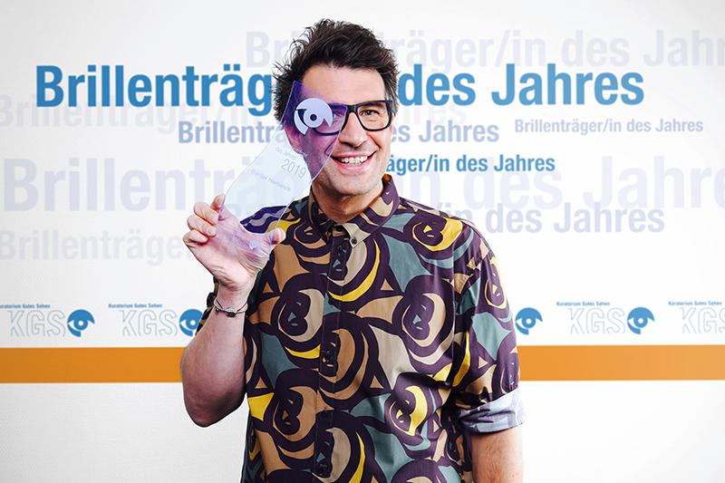 Daniel Hartwich, Brillenträger des Jahres 2019