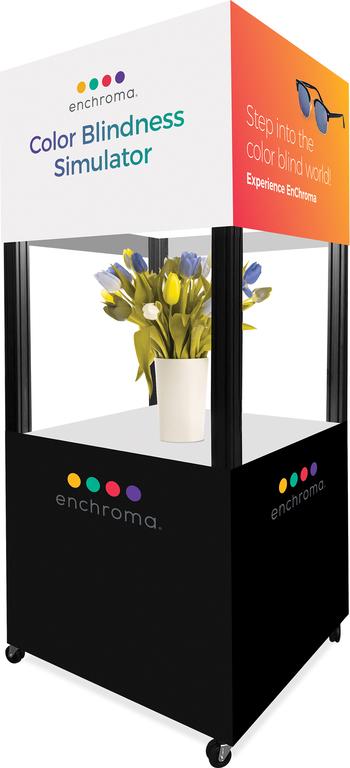 Farbenblindheitssimulator EnChroma