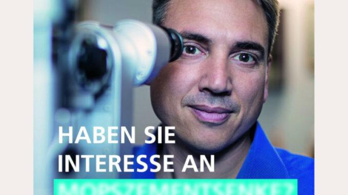 Kampagne AOV NRW Poster Leistungen der Augenoptiker